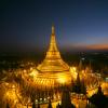 Ngôi chùa được dát toàn vàng tại Myanmar
