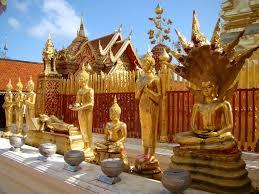 Chùa Phrathat Doi Suthep ở Chiang Mai Thái Lan
