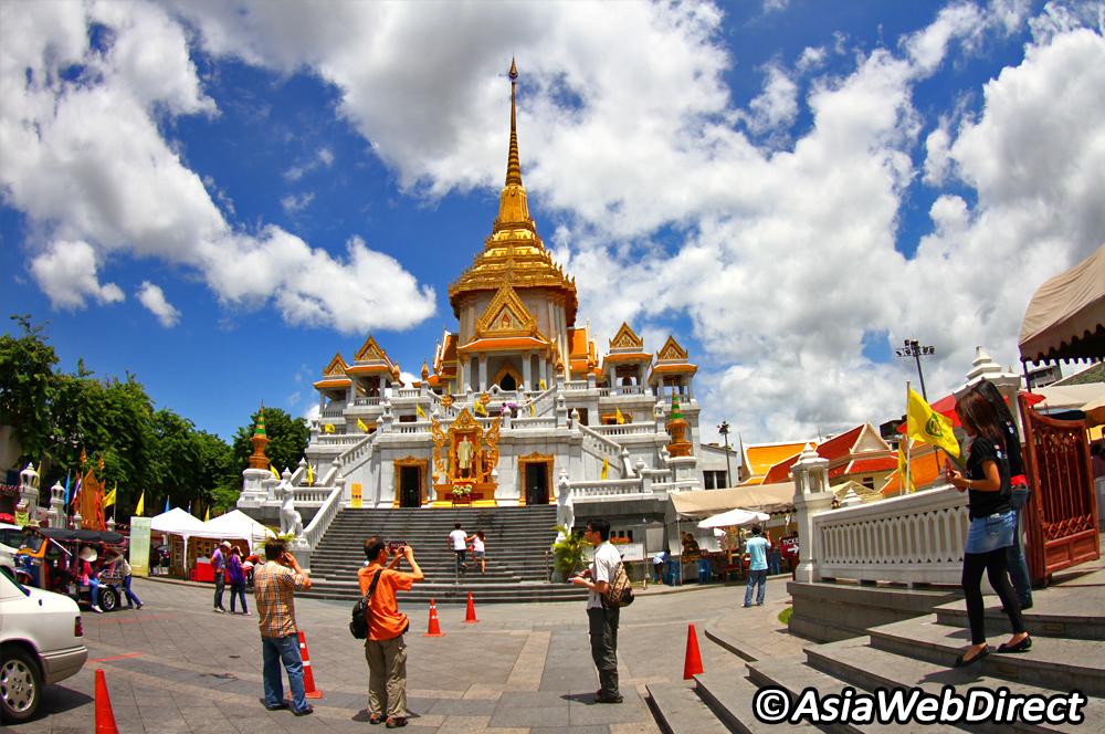 Chùa Wat Traimit với bức tượng Phật bằng vàng nguyên khối khổng lồ