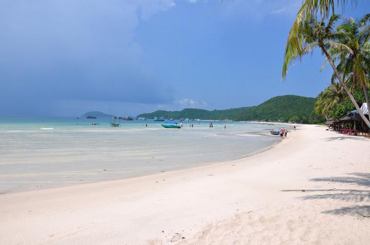 Bờ biển Bãi Sao - Phú Quốc