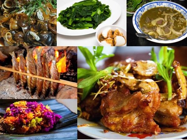 Các món ăn đặc sản ở Mai Châu - Hòa Bình