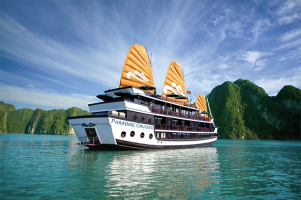 Du thuyền 5 sao paradise cruises