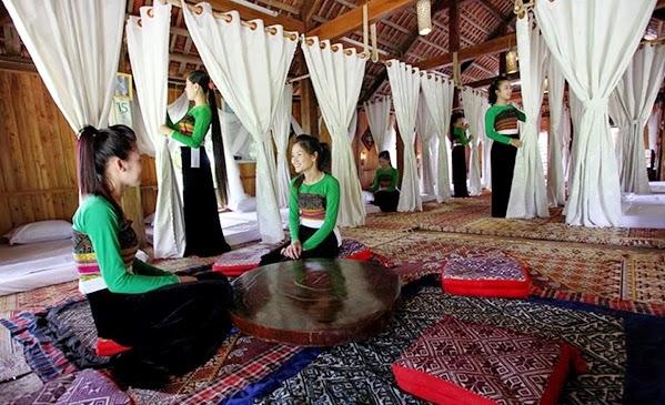 Nhà sàn cho thuê ở Mai Châu - Hòa Bình